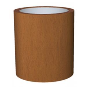 Cortenstaal plantenbak Basic Topper cylinder 52x48cm