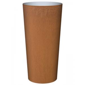 Cortenstaal plantenbak Conica hoog 100x50cm