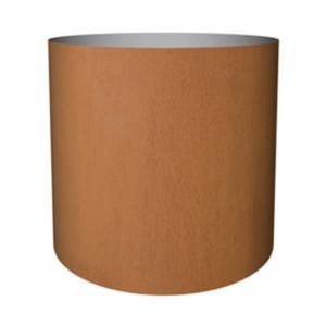 Cortenstaal plantenbak Standard cylinder 40x40cm op een ring