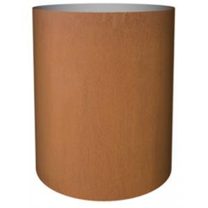 Cortenstaal plantenbak Standard cylinder 52x40cm op een ring