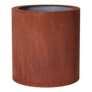 Cortenstaal plantenbak Standard Topper cylinder 52x48cm