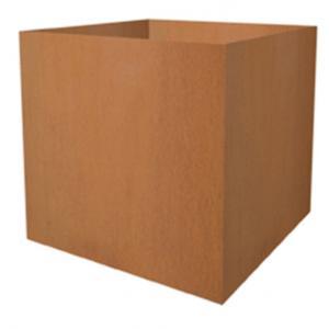 Cortenstaal plantenbak vierkant 60x60x59cm
