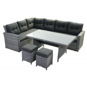 Loungeset Kai high dining Deluxe grijs