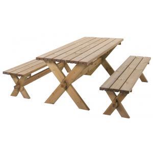 Götenborg houten picknickset