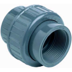 PVC 3-delige koppeling lijm x binnendraad - 32 mm x 1