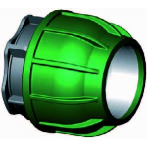 Eindkap - buiskoppeling - 32 mm