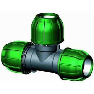 T-stuk 90 graden - buiskoppeling - 32 x 32 x 32 mm