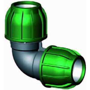 Knie 90 graden - buiskoppeling - 32 x 32 mm