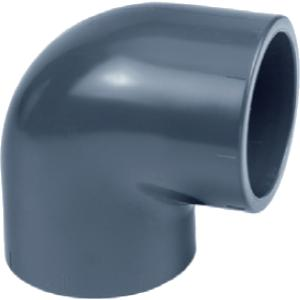 PVC knie 90 graden - 63 mm