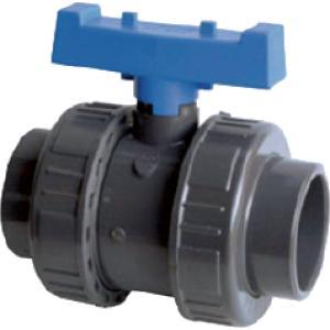 PVC kogelkraan met dubbele wartel - 40 mm