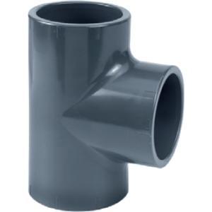 PVC t-stuk - 50 mm