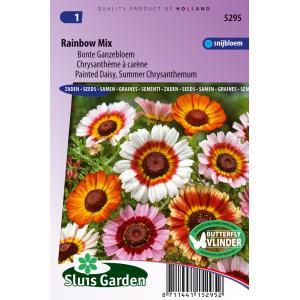 Bonte Ganzebloem bloemzaden - Rainbow Mix