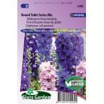 Ridderspoor hoog meerjarig bloemzaden - Round Table Series Mix