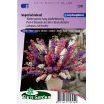 Riddersporen hoog dubbelbloemig bloemzaden - Imperial mixed