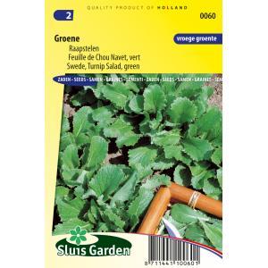 Raapstelen (groen) zaden