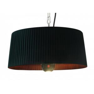 Artix 1800 watt hangende terrasverwarmer zwart