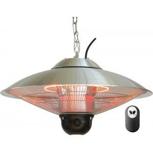 Hangende 1800 Watt heater met led-verlichting