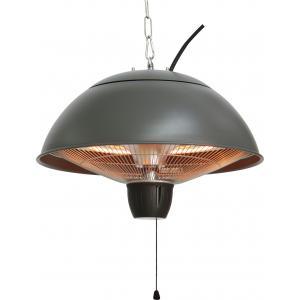 Mushroom grijs - hangende elektrische terrasverwarmer