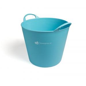 Flexibele kuip voor tuinafval blauw - 40 Liter