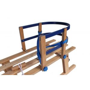 Rugleuning slee hout/metaal