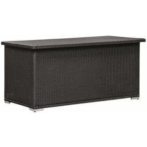 Kussenbox zwart wicker brooklyn
