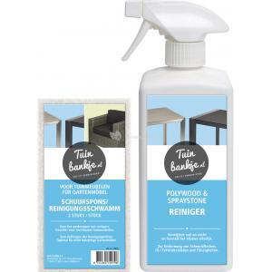Reinigingsset polywood en spraystone