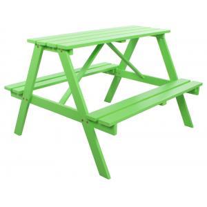 Kinderpicknicktafel Groen