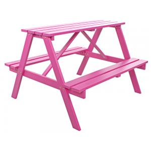 Kinderpicknicktafel Roze