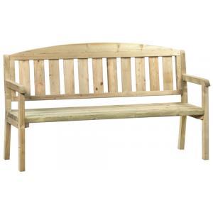 Sparrenbos 3-persoons houten tuinbank
