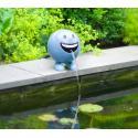 Be Happy blauw 19 cm spuitfiguur