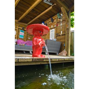 Spuitfiguur Boy mexicano 67 cm rood