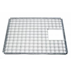 Afdekrooster rechthoekig - 69,5 x 34 cm